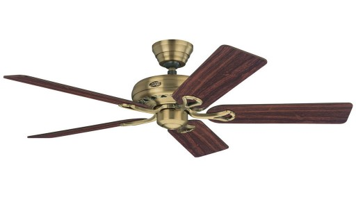 Hunter Savoy Fan In Antique Brass - 24520