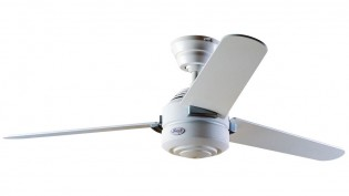Hunter Carera Fan In White-24246
