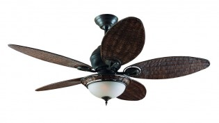 Hunter Caribbean Breeze Fan In Weathered Bronze-24457