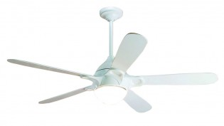Hunter Lugano Fan In White - 24266