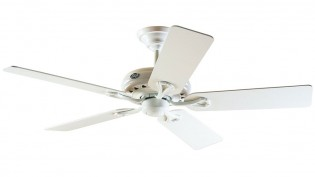 Hunter Savoy Fan In White - 24526